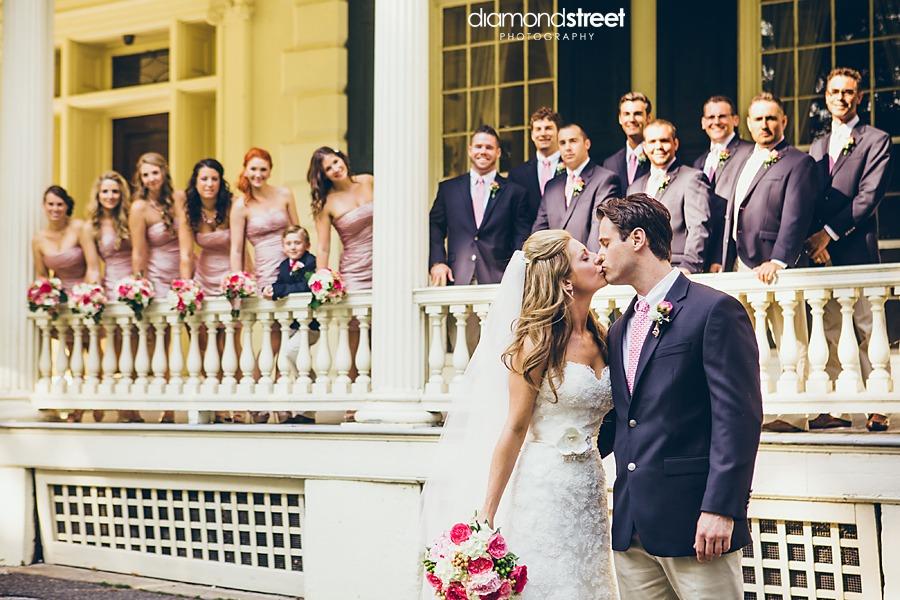 Glen Foerd Wedding bridal party
