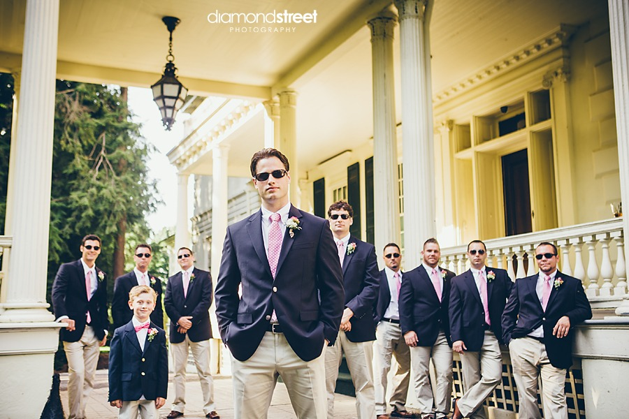 Glen Foerd Wedding groomsmen