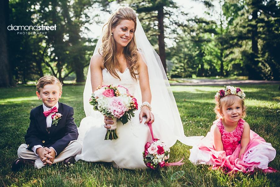 Glen Foerd Wedding bride