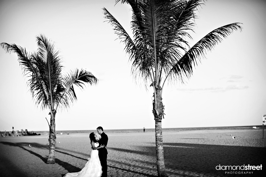 point pleasant beach wedding photos