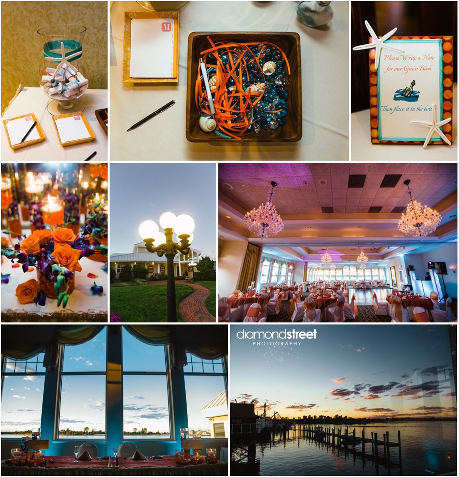 Sunset Ballroom wedding photos