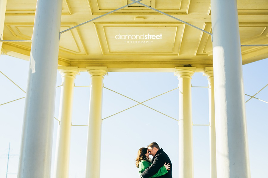 Waterworks engagement photos