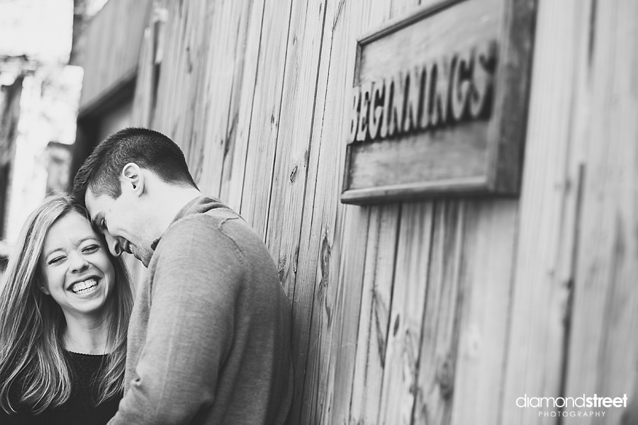 Italian Market Engagement Photography