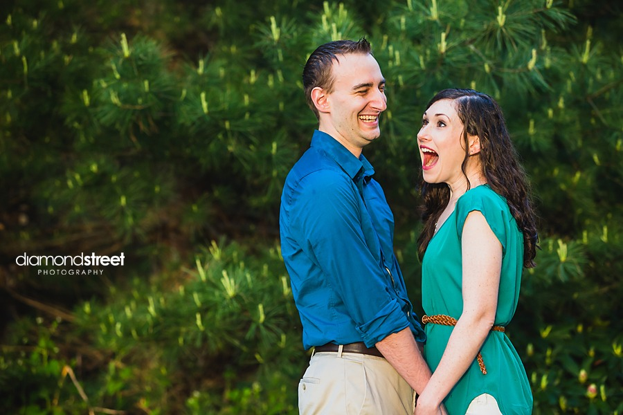 Huntingdon Valley engagement photos