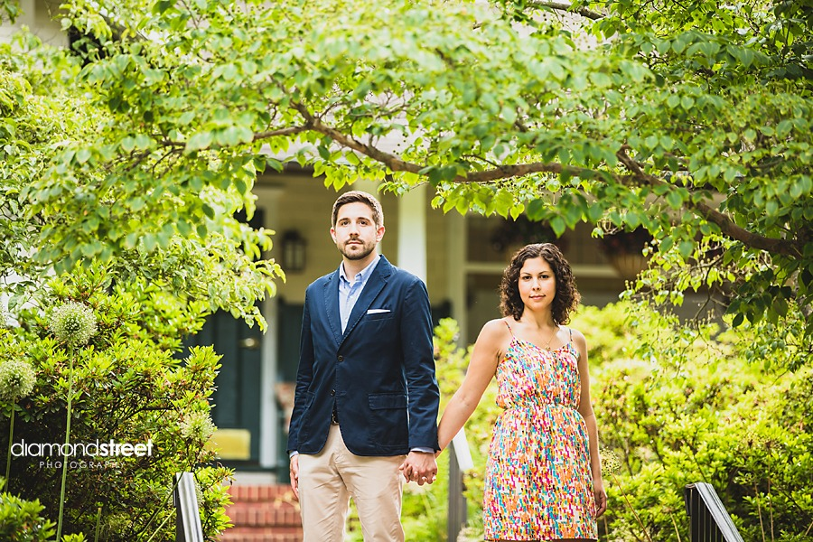 Sayen Gardens engagement