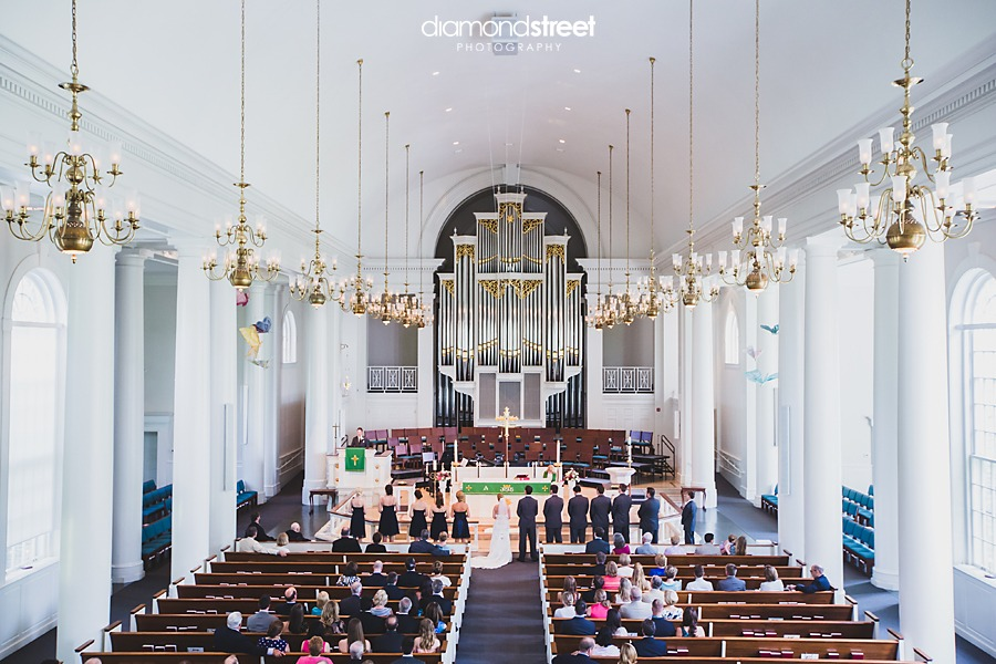 Trinity Lutheran Church wedding photos