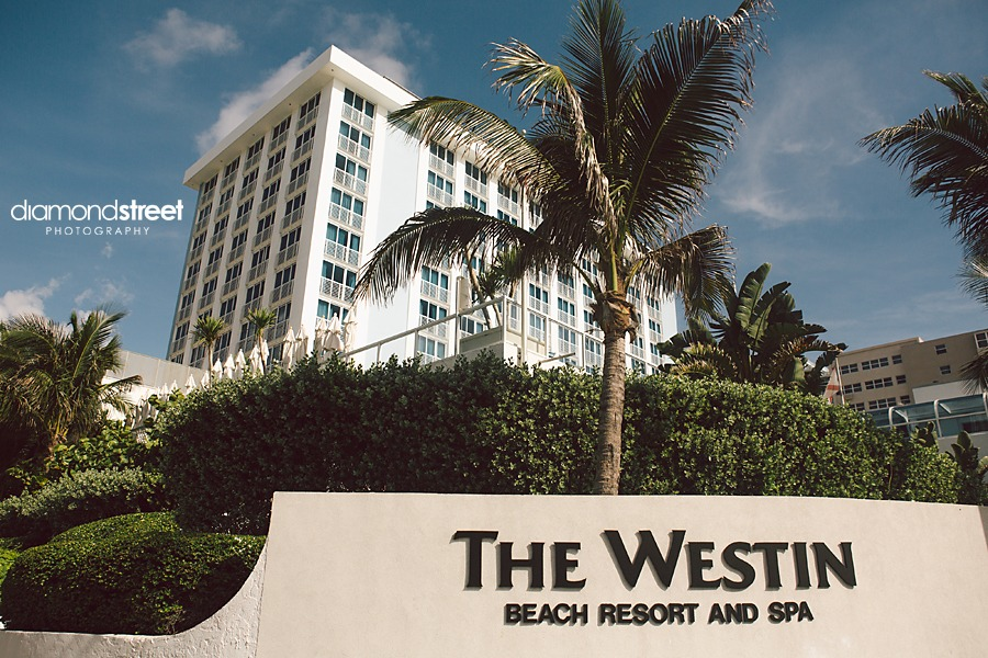 The Westin Beach Florida Wedding photos