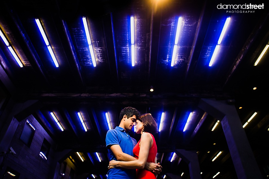 New York highline engagement photography