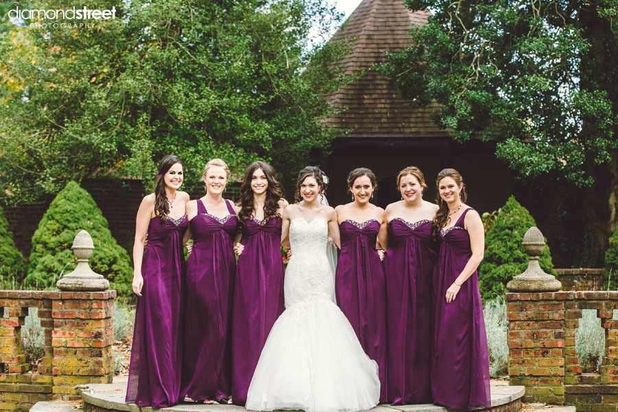 Aldie Mansion bridesmaids