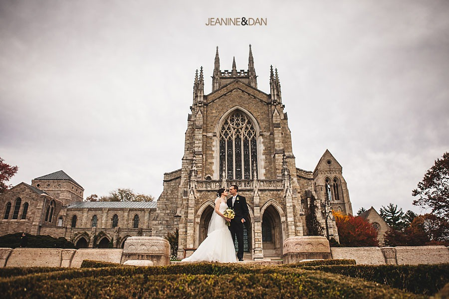 Bryn Athyn Cathedral wedding photos