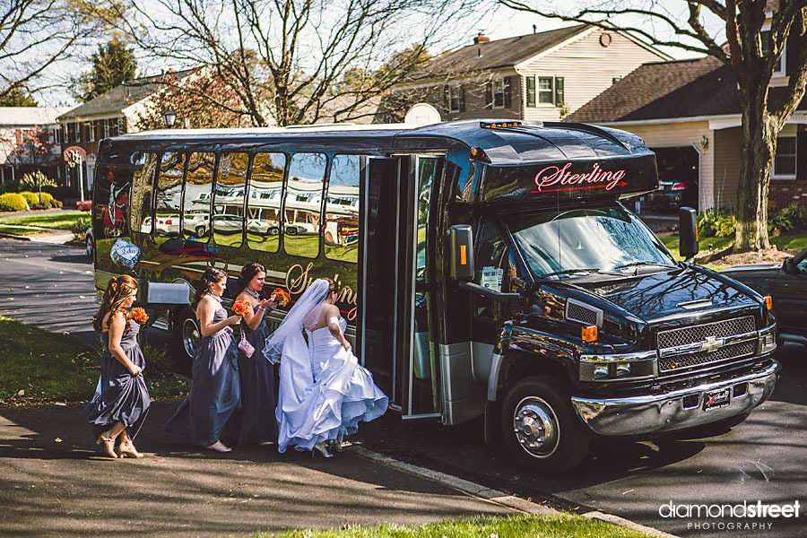 sterling limo bus weddings