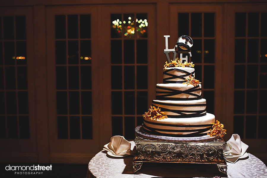 Belle Voir Mansion Wedding cake