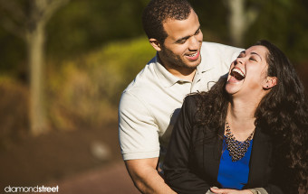 Byers Choice engagement session