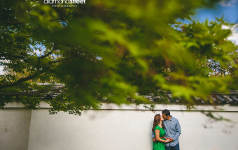 Horticultural Center Engagement Photos