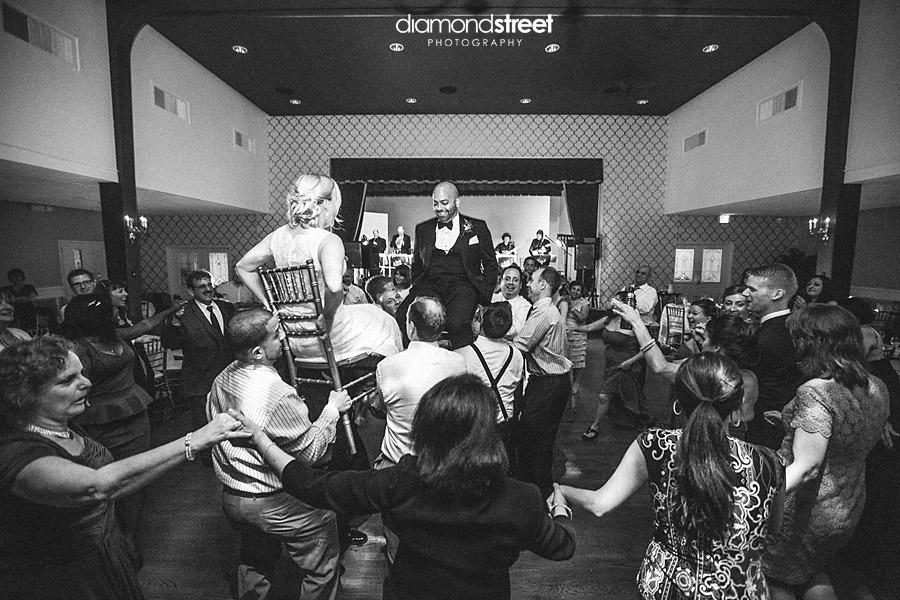 The Clothier Room wedding