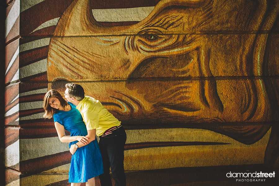 Philadelphia Zoo engagement session