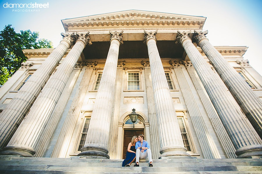 An all around Philly engagement session