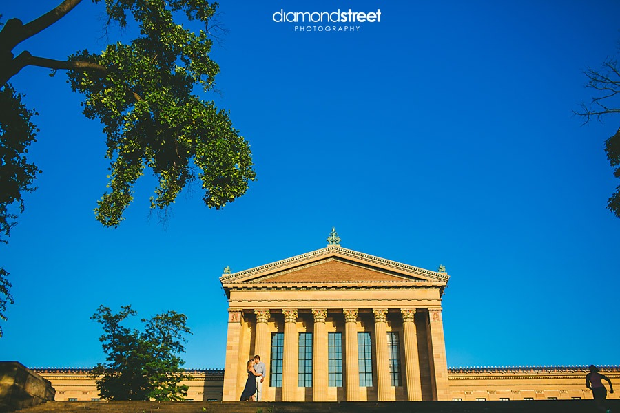 Philadelphia art museum wedding photos