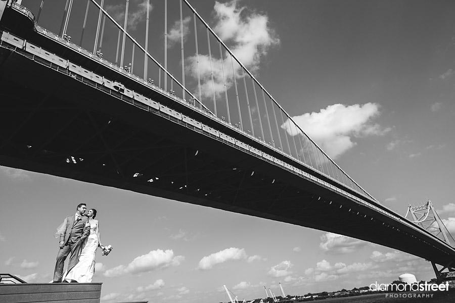 Race st pier wedding photos