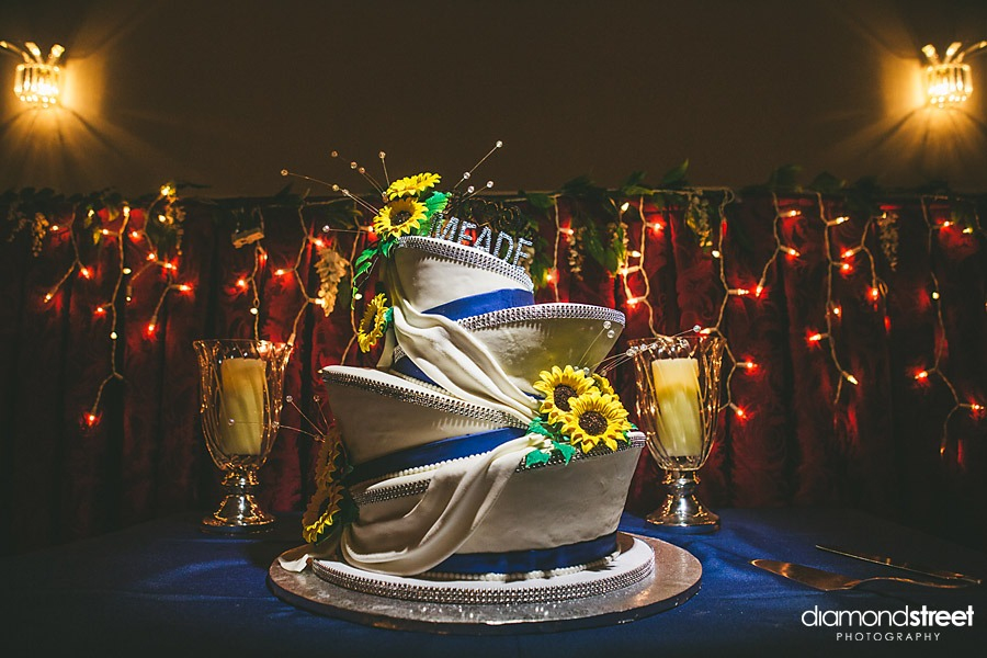 Pennsbury Manor wedding cake