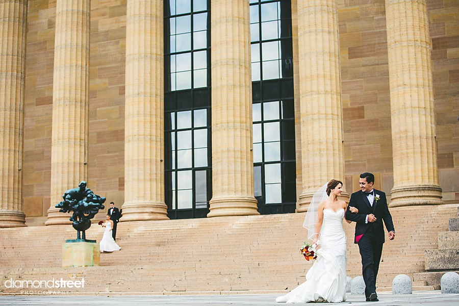 Mansion on main Street Wedding-art-museum-photos