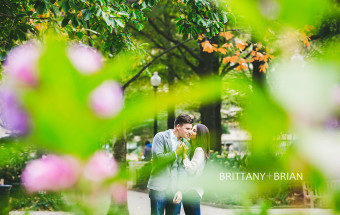 Rittenhouse Square Park Engagement