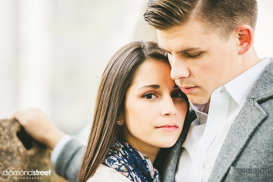 Rittenhouse Square Park Engagement photos