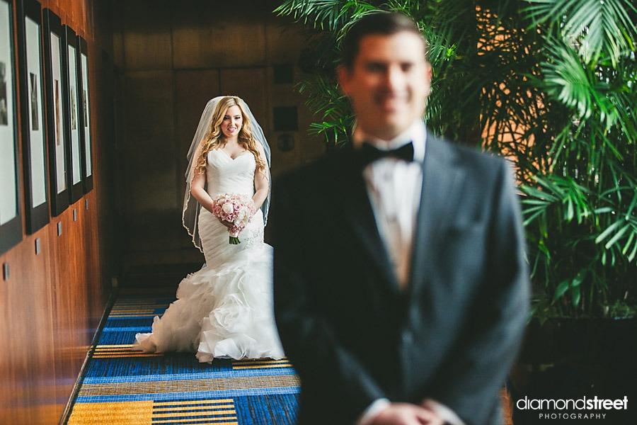 Loews Hotel wedding photos