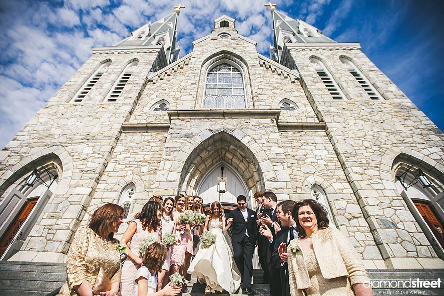 Villanova church wedding photos