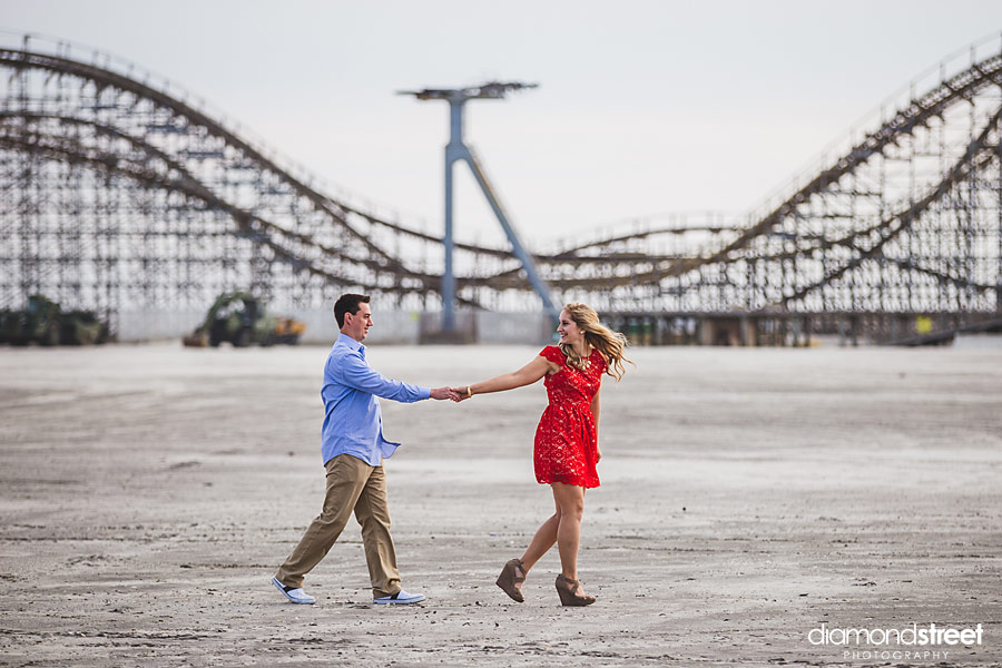 wildwood engagement photographers
