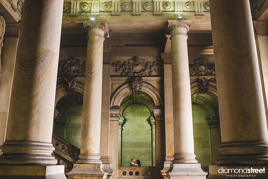 Philadelphia City Hall Engagement photos