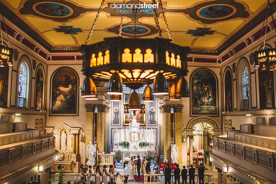 St Augustine Catholic church wedding