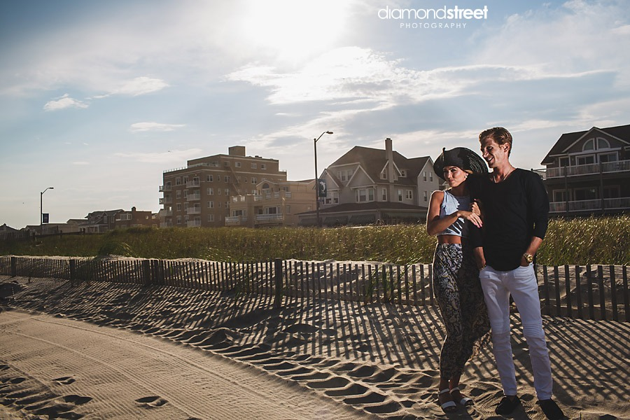Ventnor City New Jersey Engagement photos