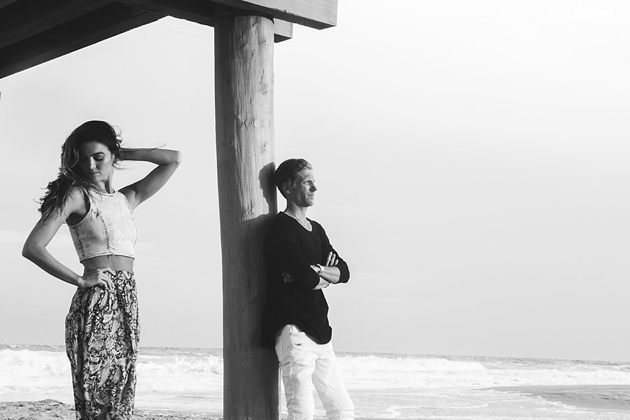 Ventnor Beach New Jersey Engagement