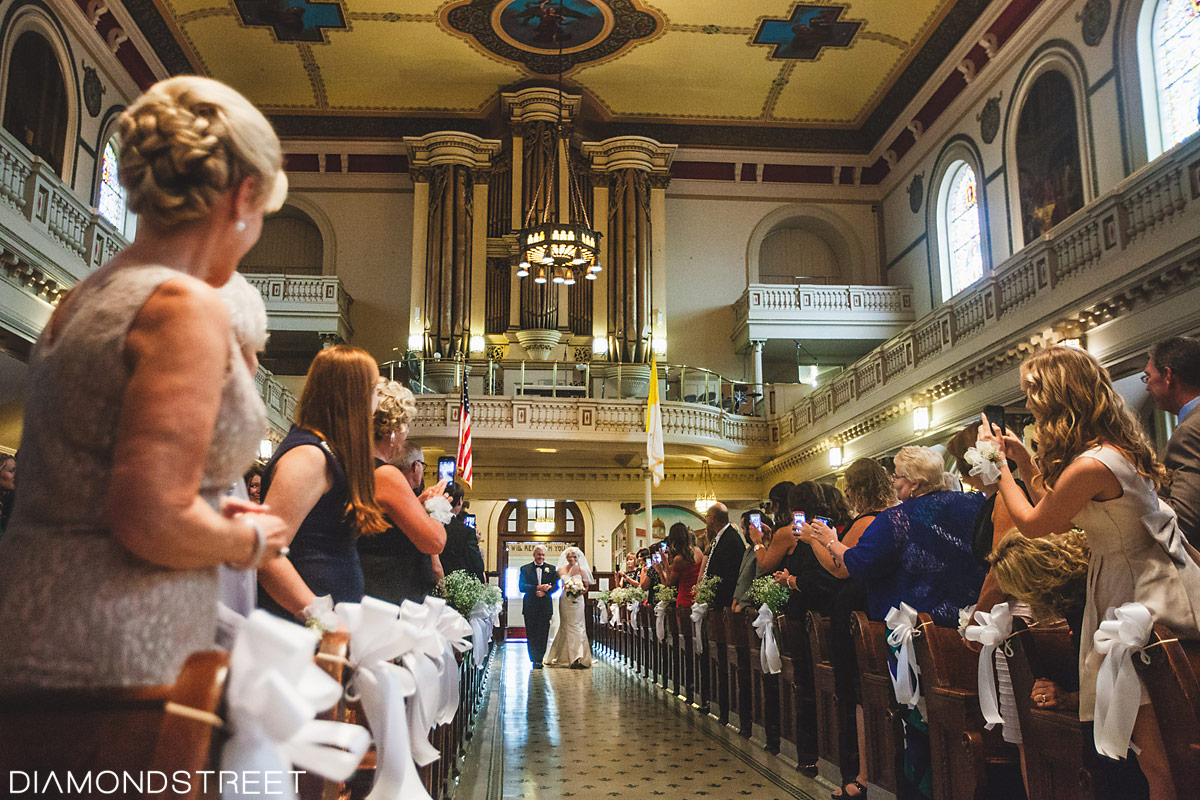 St. Augustine Catholic Church Philadelphia wedding