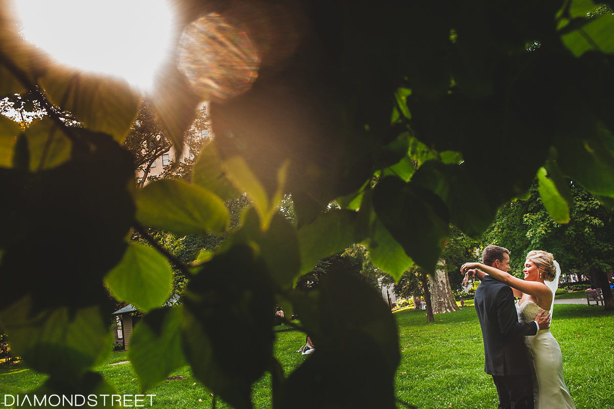Rittenhouse square park wedding photos