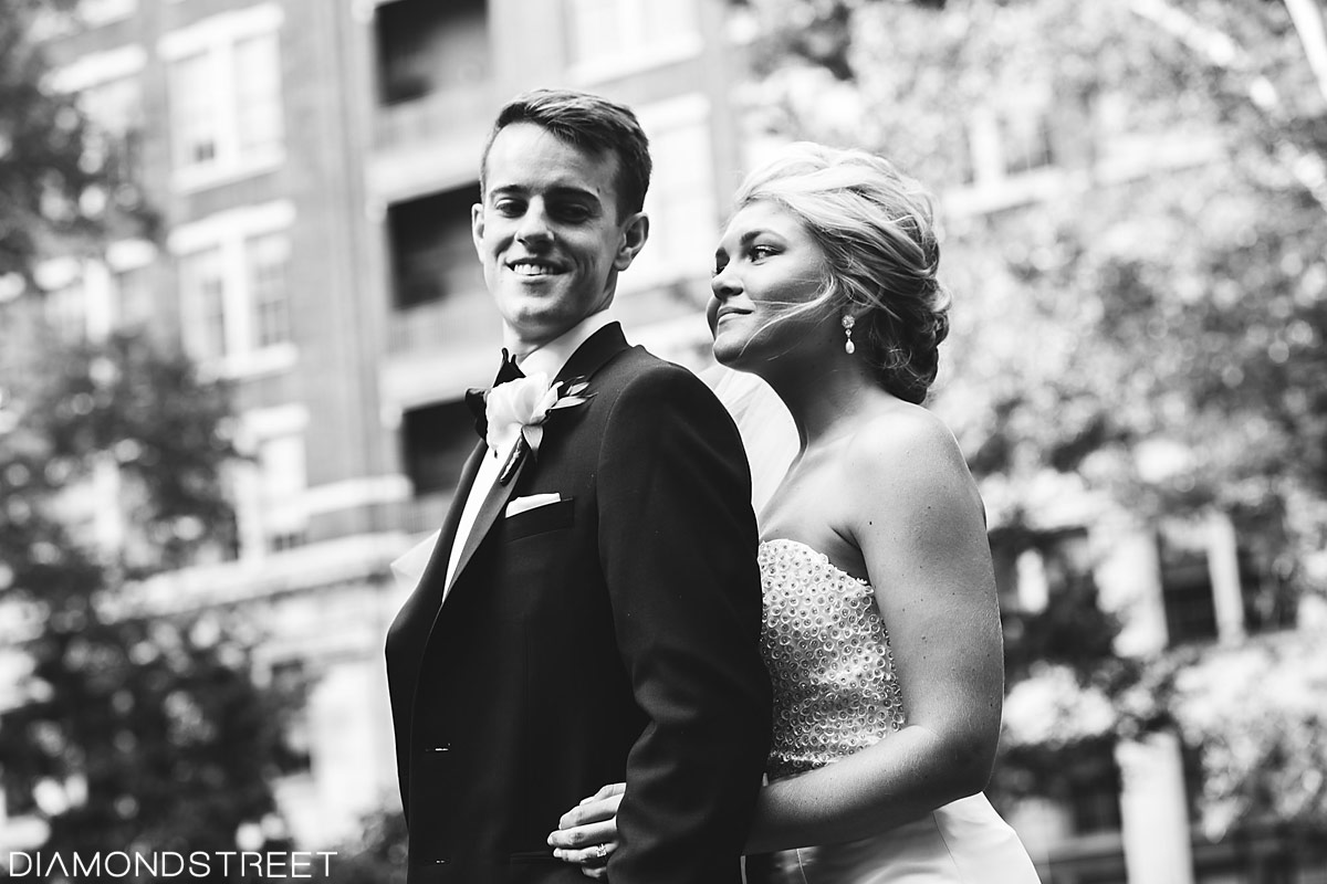 Rittenhouse Square wedding pictures
