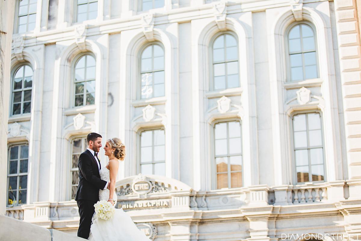 The franklin philadelphia wedding photo