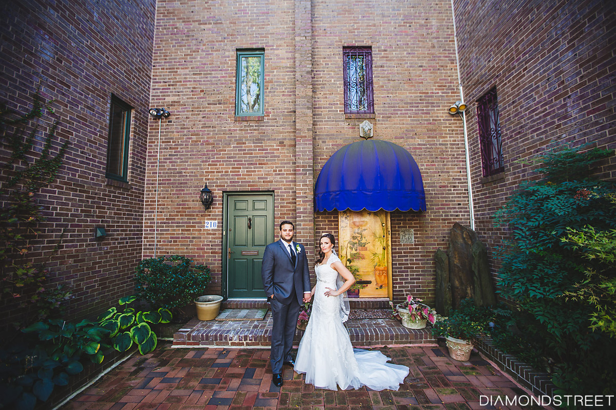 Penns Landing Hilton wedding photos
