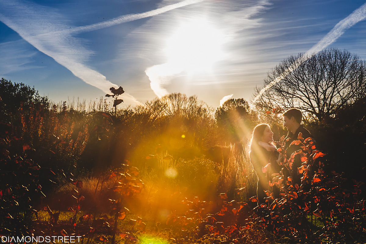 Rutgers Garden engagement photos