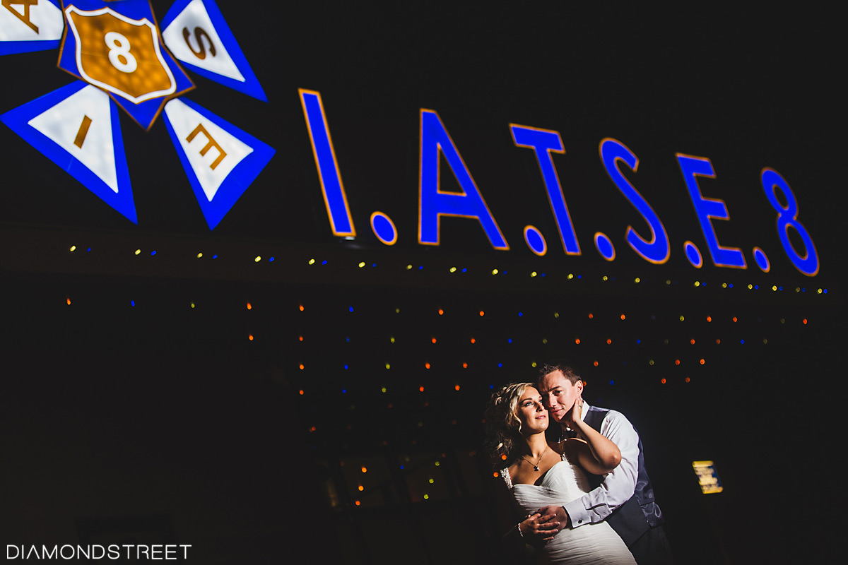 IATSE Ballroom Wedding Photos