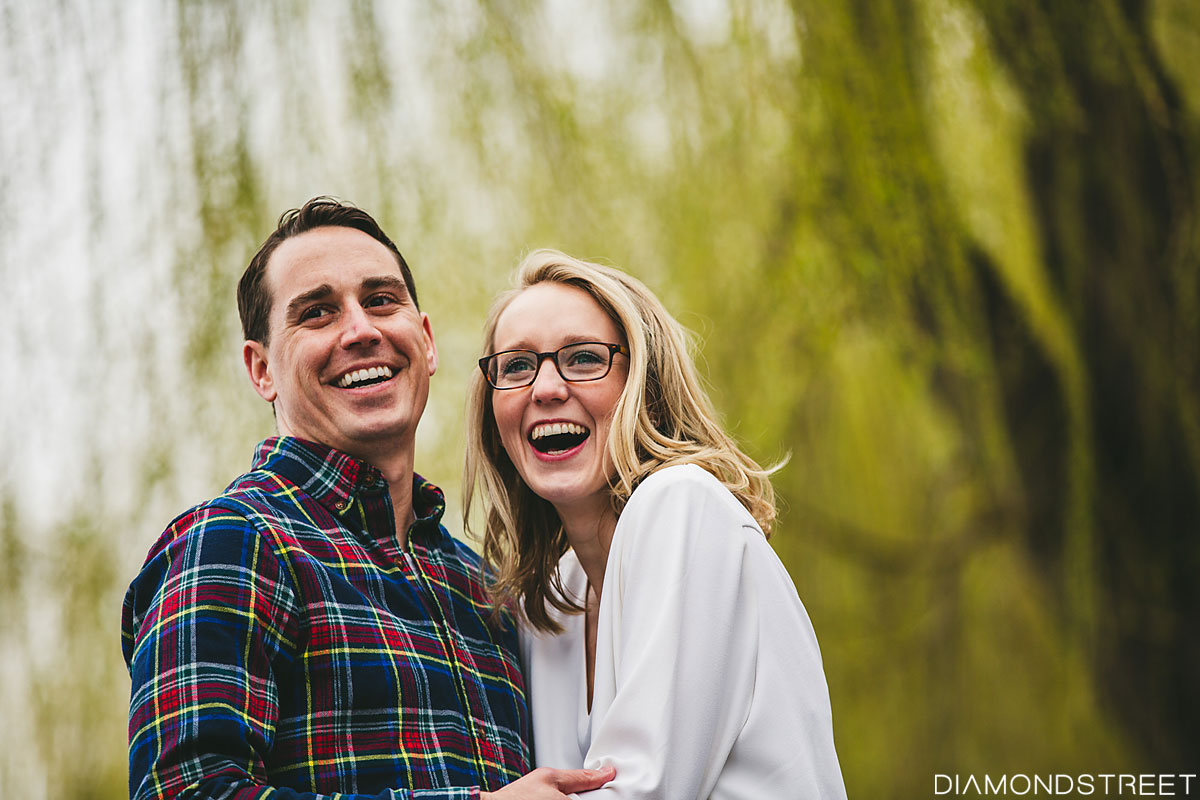 Tribeca New York engagement photos