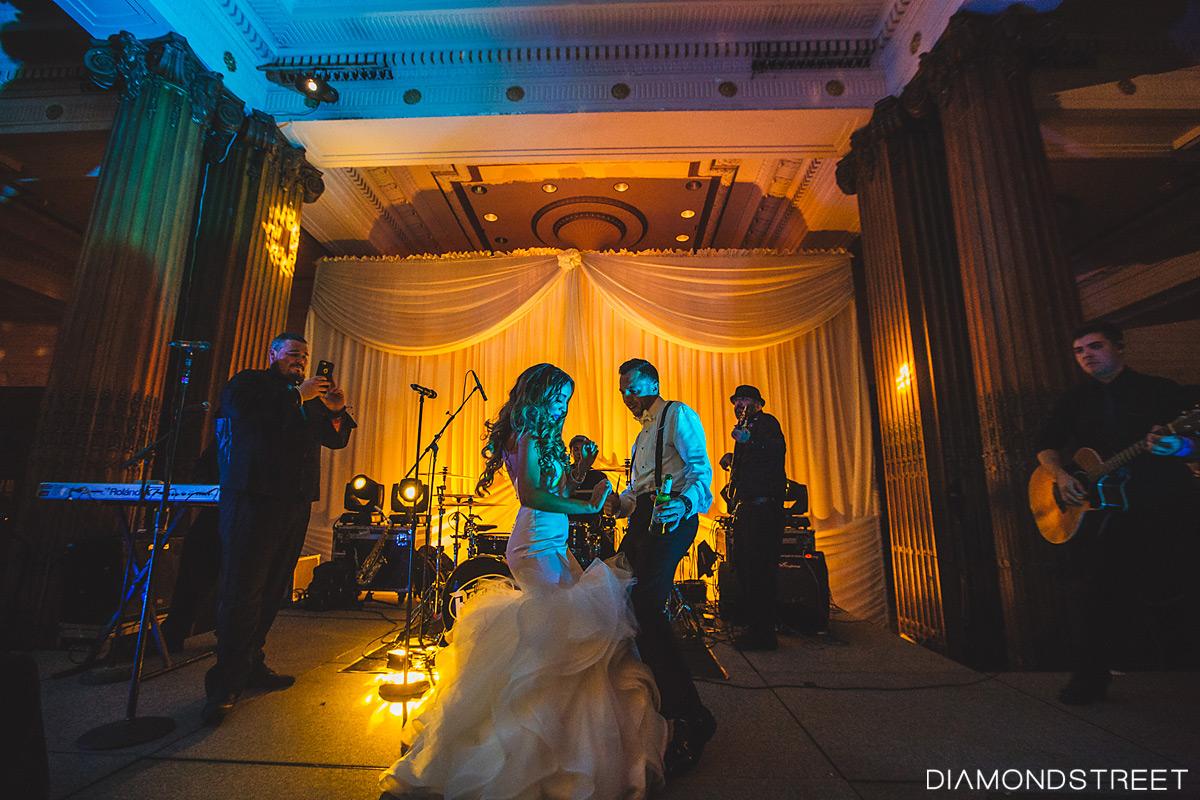 Crystal Tea Room Wedding photos
