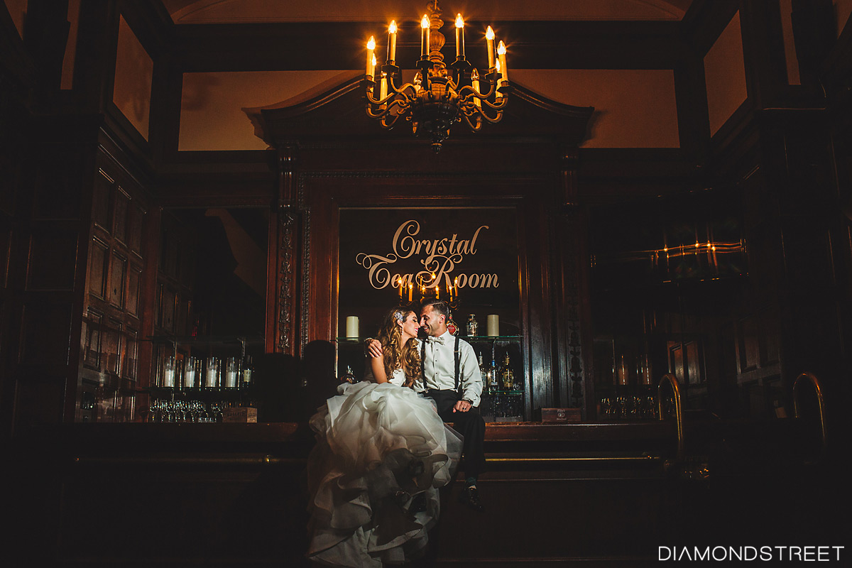 Crystal Tea Room Wedding photos