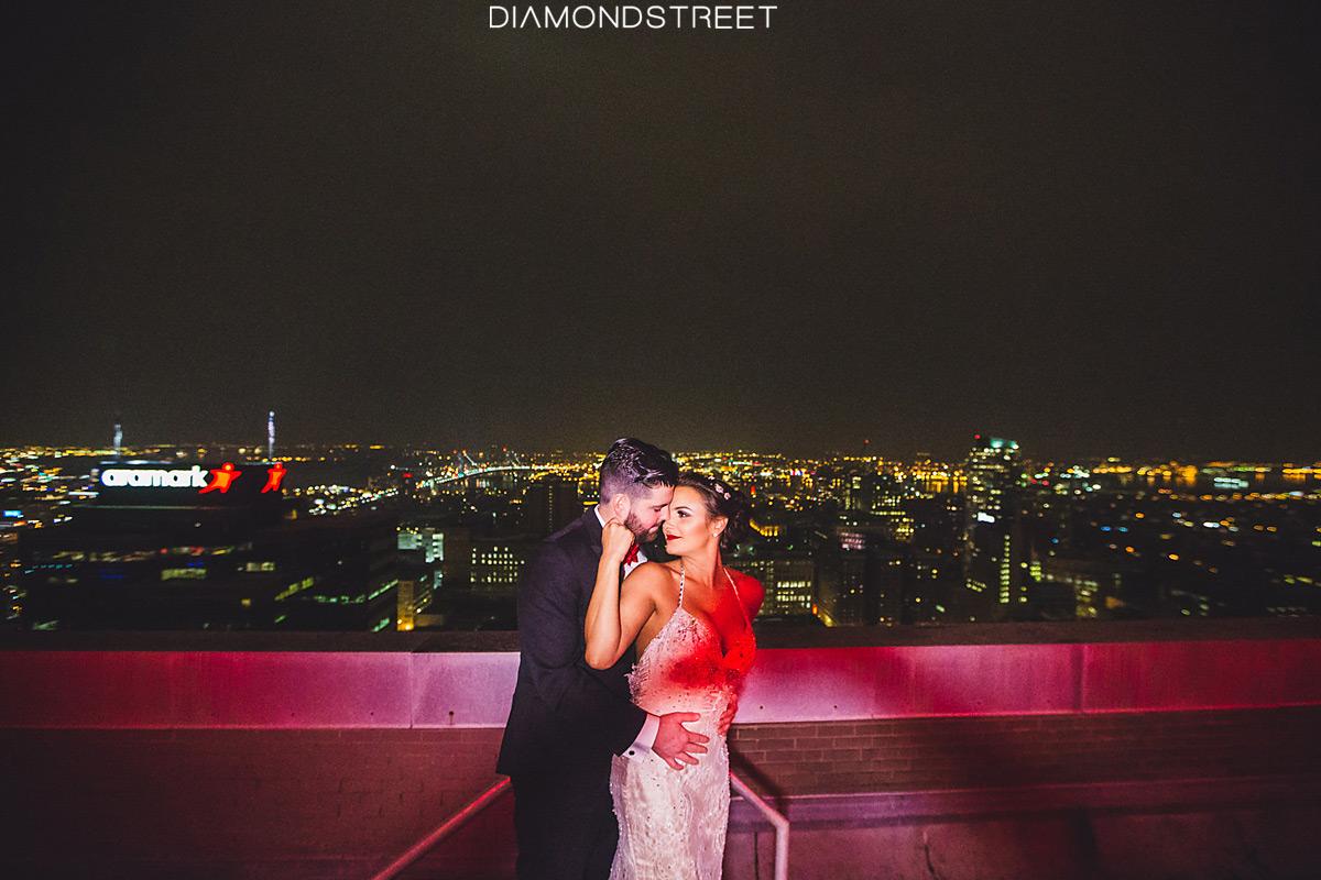 Lowes philadelphia hotel wedding photos