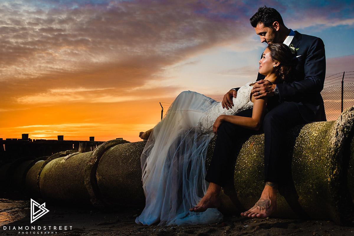 Sandy Hook Chapel Wedding Photos