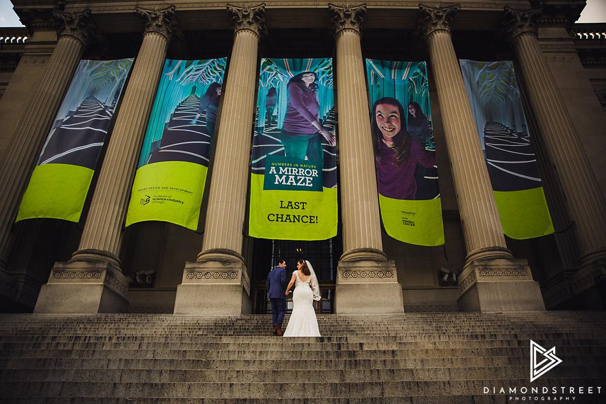 Franklin Institute Wedding Photos
