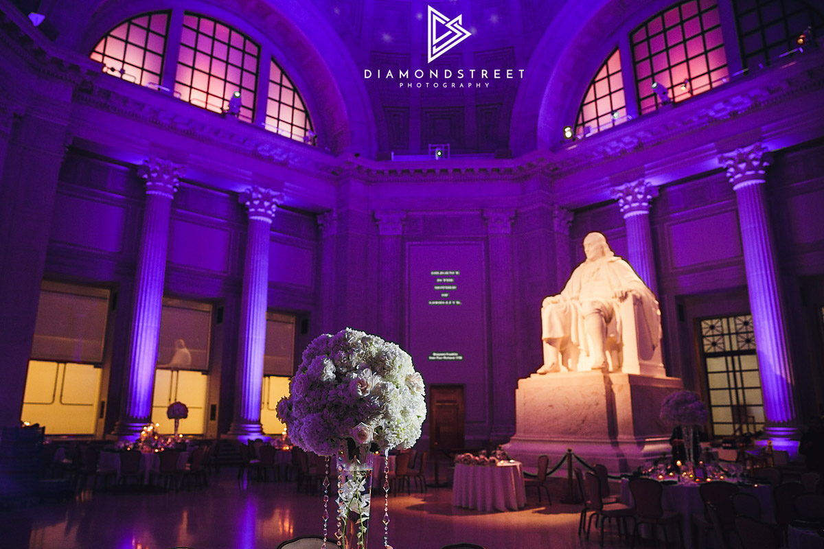 Franklin Institute Wedding Photos