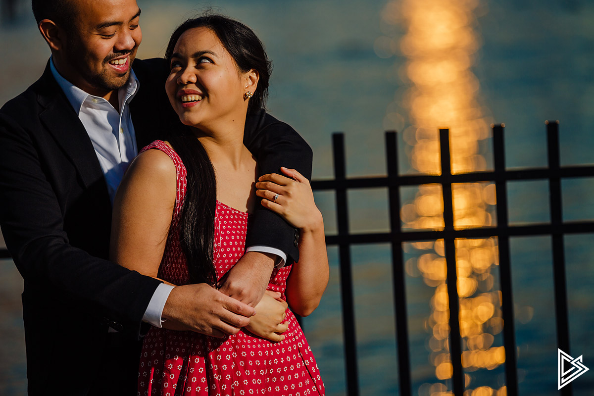Weehawken Engagement Photos