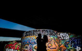 Philadelphia Skate park engagement photos